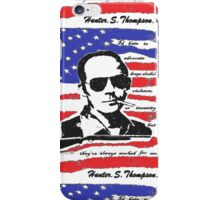 Hunter .S. Thompson. iPhone Case/Skin