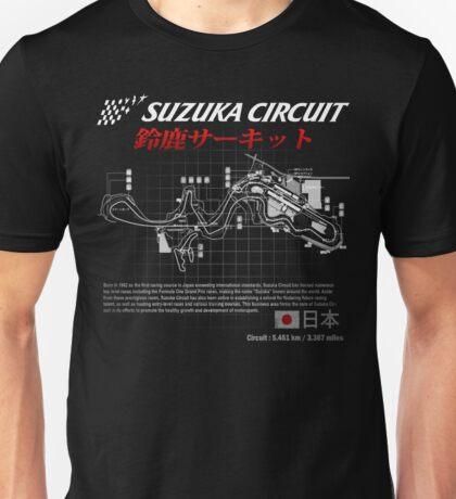 JAPAN SUZUKA 8 HOURS CIRCUIT  Unisex T-Shirt
