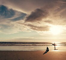Costa Rica Sunset by Rae Marie Threnoworth
