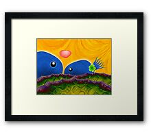 Inner Child - Lovers in the Psychedelic Sea Framed Print