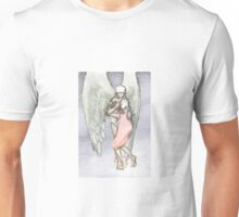 In the arms of the angel Unisex T-Shirt