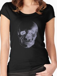 Skull X-Ray  Women's Fitted Scoop T-Shirt