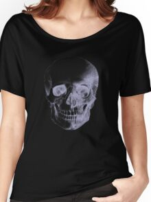 Skull X-Ray  Women's Relaxed Fit T-Shirt