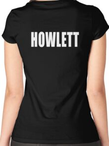 Howlett Women's Fitted Scoop T-Shirt