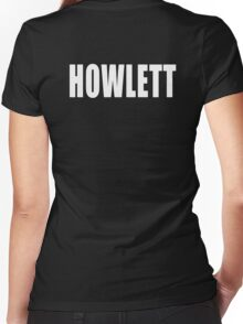 Howlett Women's Fitted V-Neck T-Shirt