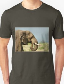 THE AFRICAN ELEPHANT IN PROFILE – Loxodonta Africana - AFRIKA OLIFANT Unisex T-Shirt