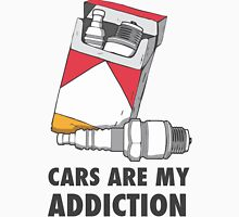 Cars are my addiction Unisex T-Shirt
