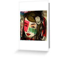 Japanese Girl 2 Greeting Card