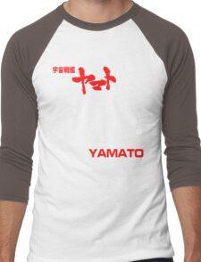 NEW STAR BLAZERS SPACE BATTLESHIP YAMATO JAPAN RETRO ANIME MANGA Men's Baseball ¾ T-Shirt