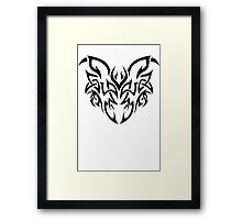 Tribal Wing Framed Print