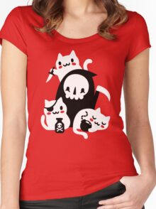 Deaths Little Helpers Women's Fitted Scoop T-Shirt