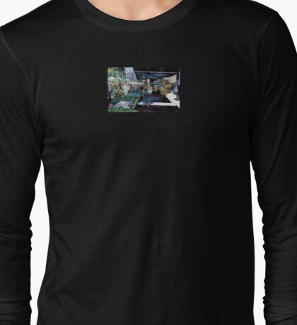 Prismatic Splintering of Light Long Sleeve T-Shirt