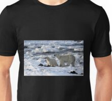 Polar Bear & Cub Tasting the Air, Churchill, Canada Unisex T-Shirt
