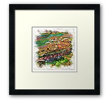 The Atlas of Dreams - Color Plate 205 Framed Print
