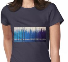 Fall Nights Womens Fitted T-Shirt