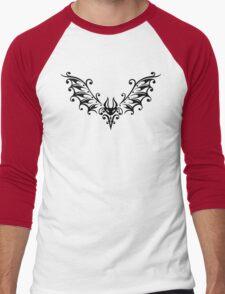 Black Bat Men's Baseball ¾ T-Shirt