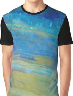 Sunrise Fire Opal, Abstract colourful stone art Graphic T-Shirt