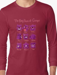 The Many Faces Long Sleeve T-Shirt