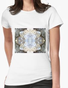 Diamond Star (Quartz Geode) Womens Fitted T-Shirt