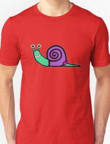 Smiley Girl Snail Unisex T-Shirt
