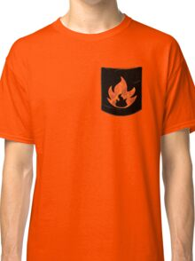 Pokemon Mondern Fire Type Pocket Classic T-Shirt