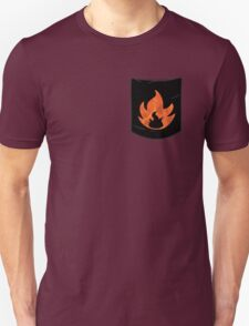 Pokemon Mondern Fire Type Pocket T-Shirt