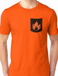 Pokemon Mondern Fire Type Pocket Unisex T-Shirt
