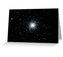 M13 The Great Globular Cluster Greeting Card