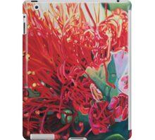 on fire pohutukawa iPad Case/Skin