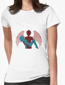 Saved by the Fallen Womens Fitted T-Shirt