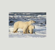 Standing Guard Over Her Cub, Churchill, Canada  Unisex T-Shirt