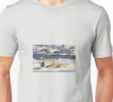 Polar Bear Mother & Cub Grooming Enthusiastically  Unisex T-Shirt