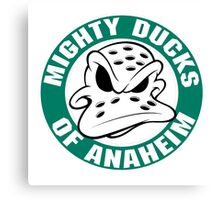 Anaheim mighty ducks  Canvas Print