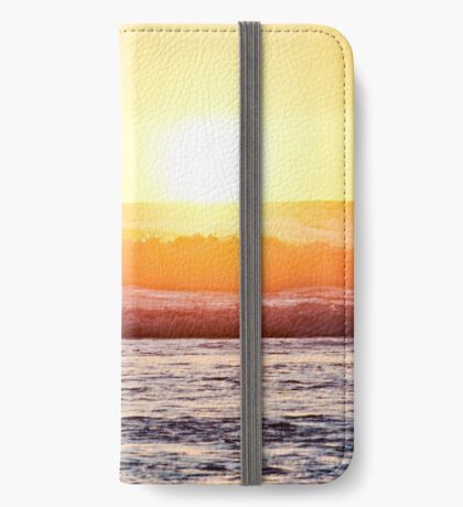 Sunset Paddle Out iPhone Wallet/Case/Skin