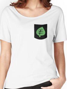 Pokemon Grass Type Pocket Women's Relaxed Fit T-Shirt