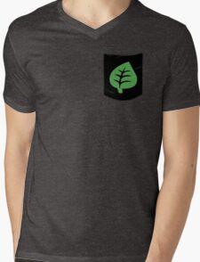 Pokemon Grass Type Pocket Mens V-Neck T-Shirt