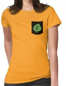 Pokemon Grass Type Pocket Womens Fitted T-Shirt