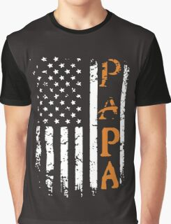 AMERICAN PAPA!! Graphic T-Shirt