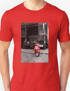 Red Scooter Unisex T-Shirt