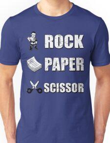 Rock, Paper Scissors ... Dwayne Johnson ??? Unisex T-Shirt