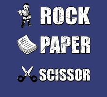 Rock, Paper Scissors ... Dwayne Johnson ??? Unisex T-Shirt
