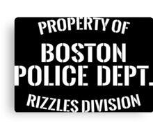 Rizzles Division Canvas Print