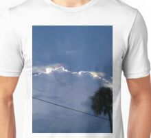 southern lights at sunset Unisex T-Shirt