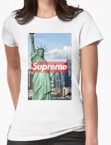 supreme nyc Womens Fitted T-Shirt