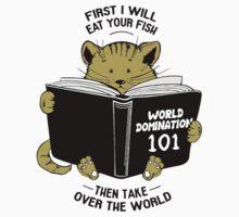 CAT WORLD DOMINATION Kids Tee