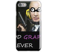 Grape Man iPhone Case/Skin