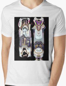 RUH Roh Mens V-Neck T-Shirt