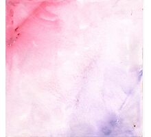 Pink and purple ombre Photographic Print