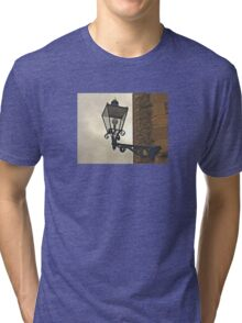 Lamp with Cannons Tri-blend T-Shirt