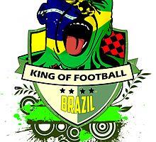 Brazil Futebol by dejava